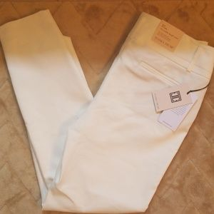 Ivanka Trump NWT White Dressy Slim Ankle Pants